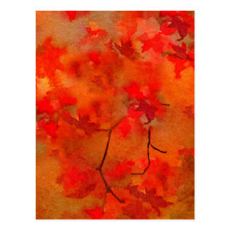 Embers of Autumn Postcard