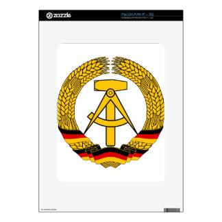 Emblem der DDR - National Emblem of the GDR Decals For The iPad