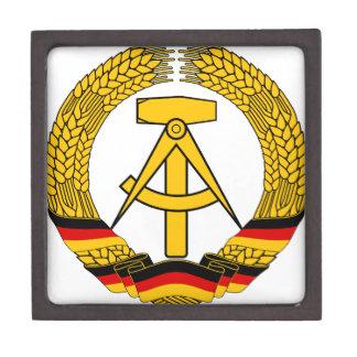 Emblem der DDR - National Emblem of the GDR Keepsake Box