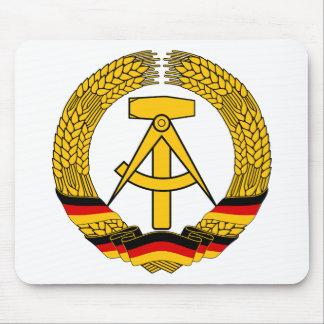 Emblem der DDR - National Emblem of the GDR Mouse Pad