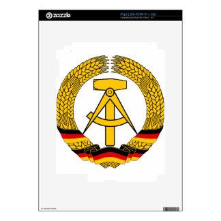 Emblem der DDR - National Emblem of the GDR Skin For The iPad 2
