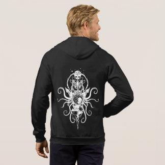 Emblem Fail Hoodie bug skeleton octopus sigil
