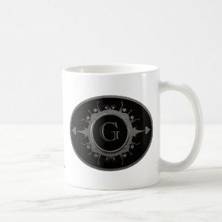 Emblem Mug Silver Black