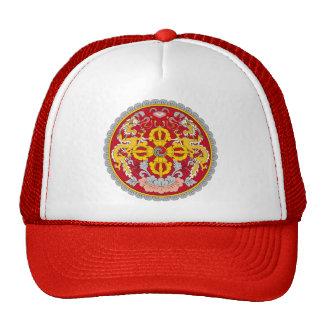 Emblem of Bhutan (རྒྱལ་ཡོངས་ལས་རྟགས་) Trucker Hat