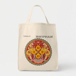 Emblem of BHUTAN Tote Bag