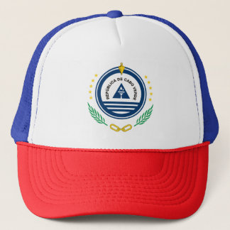Emblem of Cape Verde Brasão de armas de Cabo Verde Trucker Hat