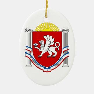Emblem of Crimea Ceramic Ornament