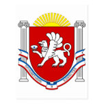 Emblem of Crimea Postcard