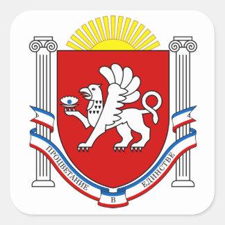 Emblem of Crimea Square Sticker