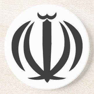 Emblem of Iran Drink Coaster