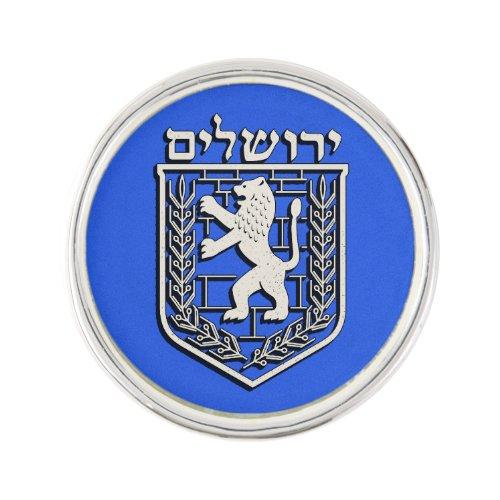 Emblem OF Jerusalem Lapel Pin