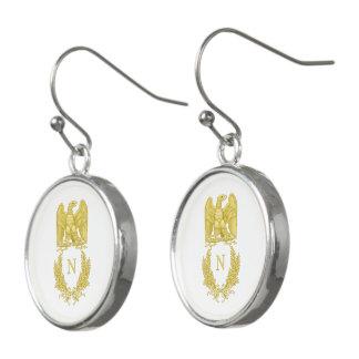Emblem of Napoleon Bonaparte Earrings