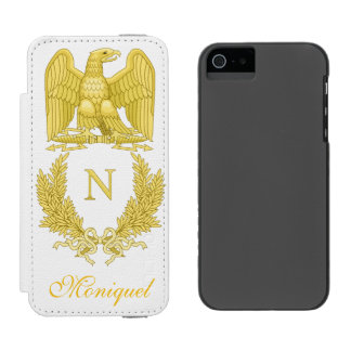 Emblem of Napoleon Bonaparte iPhone SE/5/5s Wallet Case