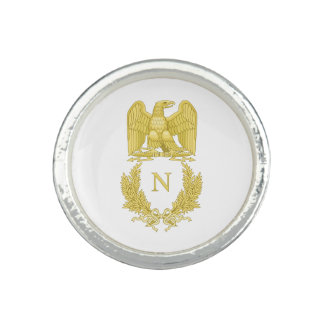 Emblem of Napoleon Bonaparte Photo Rings