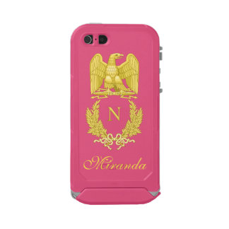 Emblem of Napoleon Bonaparte Waterproof Case For iPhone SE/5/5s
