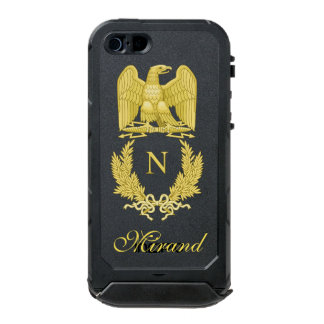Emblem of Napoleon Bonaparte Waterproof iPhone SE/5/5s Case