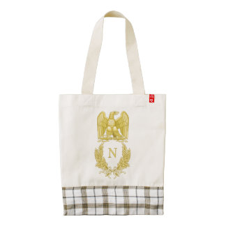 Emblem of Napoleon Bonaparte Zazzle HEART Tote Bag