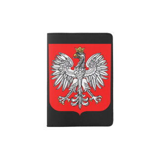 Emblem Of Poland Passport Holder