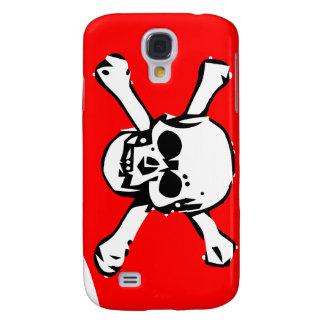 Emblem of skull samsung s4 case