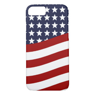 EMBLEM OF THE LAND I LOVE! (patriotic flag design) iPhone 8/7 Case