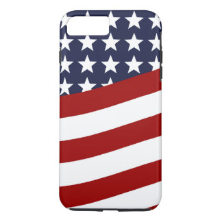 EMBLEM OF THE LAND I LOVE! (patriotic flag design) iPhone 8 Plus/7 Plus Case