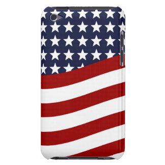 EMBLEM OF THE LAND I LOVE! (patriotic flag design) iPod Case-Mate Case