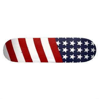 EMBLEM OF THE LAND I LOVE! (patriotic flag design) Skateboard Deck
