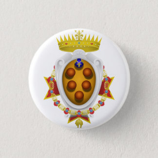 Emblem of the Navy Tuscany Medici Pinback Button