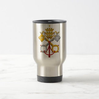 Emblem of the Papacy Official Pope Symbol Coat Coffee Mugs