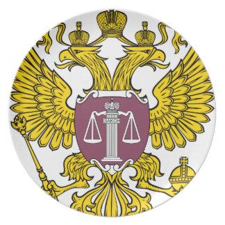 Emblem_of_the_Supreme_Court_of_Russia Platos Para Fiestas