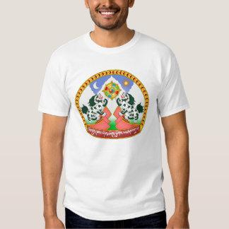 Emblem of Tibet Official Coat Arms China Symbol Tee Shirt