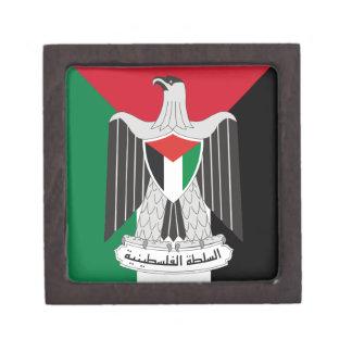 emblem palestine authority gift box