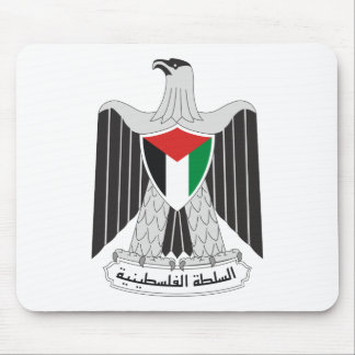 emblem palestine authority mouse pad
