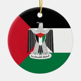 emblem palestine authority christmas ornaments