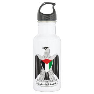 emblem palestine authority 18oz water bottle