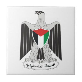 emblem palestine authority tile