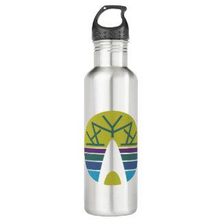 Emblema 3,0 del kajak botella de agua de acero inoxidable