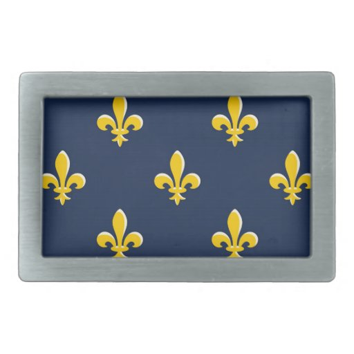 Emblema amarillo del explorador hebilla de cinturón rectangular