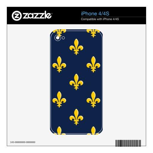 Emblema amarillo del explorador calcomanía para iPhone 4S