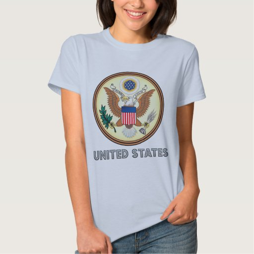 Emblema americano playeras