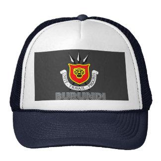Emblema burundés gorras de camionero
