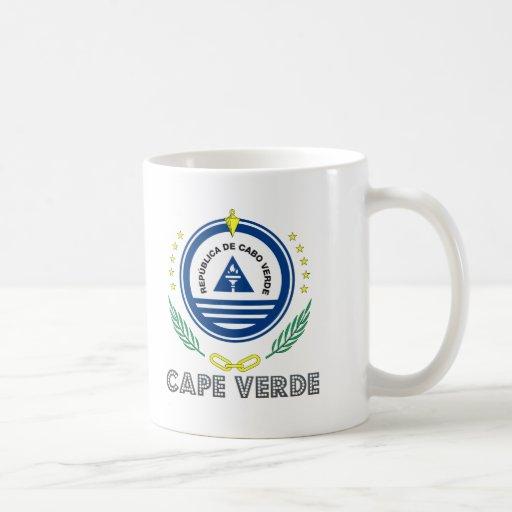 Emblema caboverdiano taza clásica