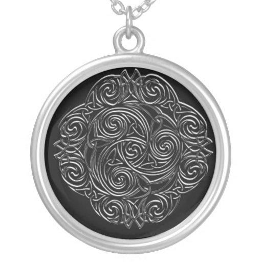 Emblema céltico de plata joyerías