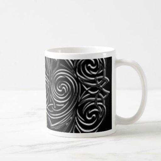 Emblema céltico de plata taza