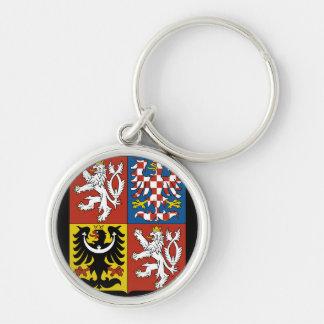 emblema checo llaveros personalizados