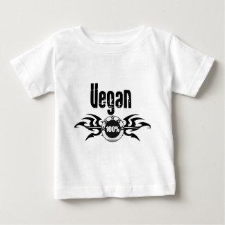 Emblema con alas Grunge del vegano Playera De Bebé