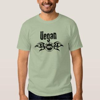 Emblema con alas Grunge del vegano Poleras