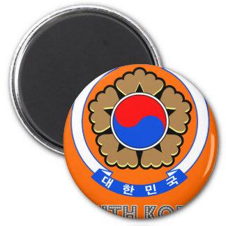 Emblema coreano iman de nevera