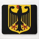 emblema de Alemania Alfombrillas De Raton
