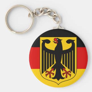 emblema de Alemania Llavero Redondo Tipo Pin